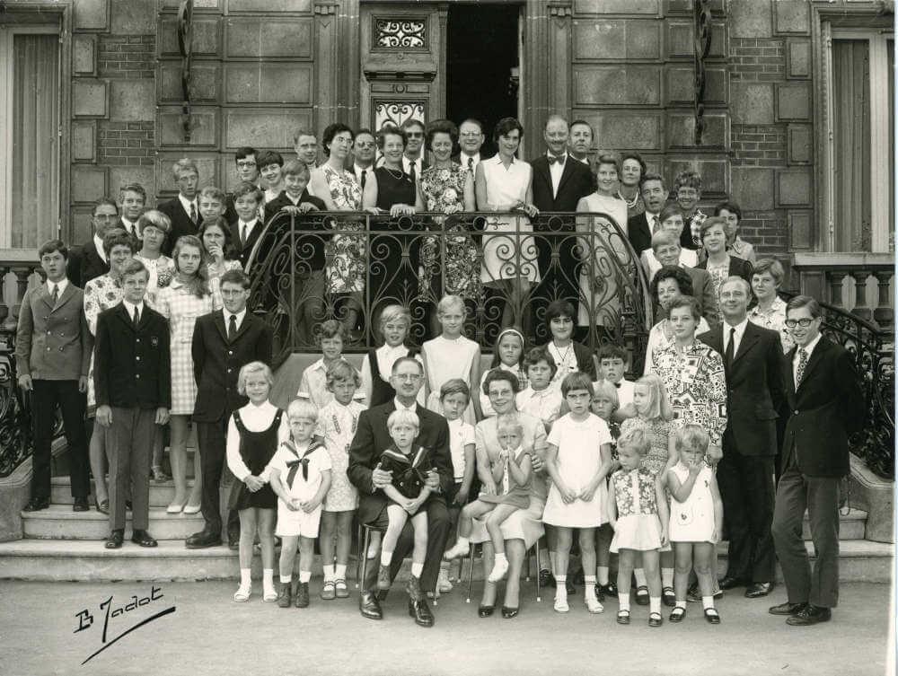 Famille Walrave dans les années 70