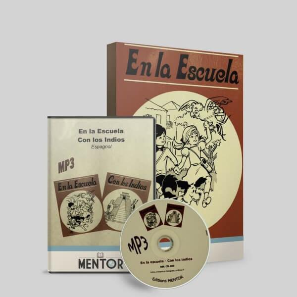 Mentor Espagnol Decouverte En la escuela avec cd